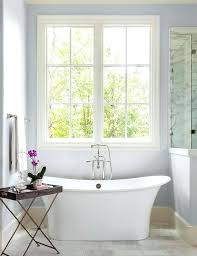 spa like bathroom paint colorsappealing with glass wall and best