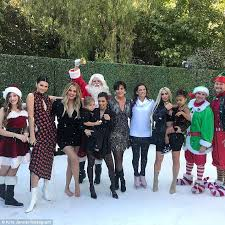 kylie jenner missing from kardashian christmas special daily
