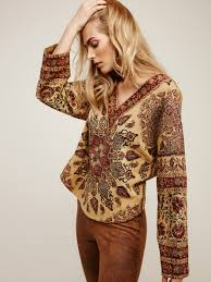 free people maya sweatshirt lyst