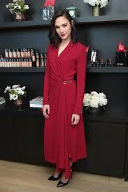 dress gal gal gadot takes on the duties of revlon brand ambassador by