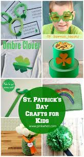 10 st patrick u0027s day crafts for kids pinkwhen