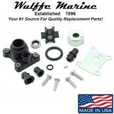 water pump impeller kit for johnson evinrude 9 9 15 hp outboard