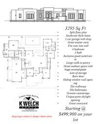 3000 u2013 4500 sq ft u2013 k welch homes