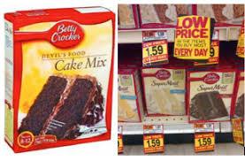 betty crocker coupon 0 75 off betty crocker cake mix coupon