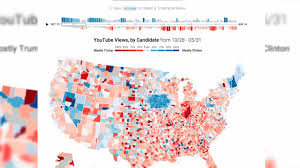2016 Election Prediction Map by Can Youtube Predict The Election Aol News