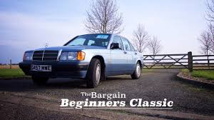 The Bargain Beginners Classic Mercedes 190 Driving Review Youtube