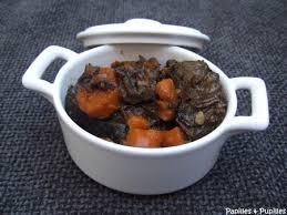 cuisiner une joue de boeuf de boeuf aux carottes et vin