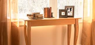 Sofa Table Desk by Solid Wood Sofa Tables Vermont Woods Studios