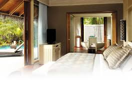 Two Bed Room by Two Bedroom Beach Villa Booking Villingili Resort And Spa Male