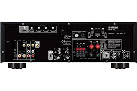 yamaha amplifier home theater yamaha black 5 1 channel network av receiver rx v383bl