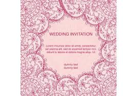 indian wedding card decorated indian wedding card free vector stock