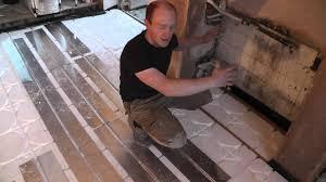 flooring diy heated floor surprising radiant heat panels photo
