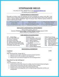 Medical Billing Resume Sample Free by Medical Billing Resume Sample Sharepdf Net Resume Pinterest
