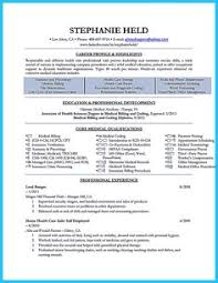 Sample Resume For Medical Billing And Coding by Medical Billing Resume Sample Sharepdf Net Resume Pinterest