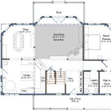 Aging In Place Floor Plans New Post And Beam Design Rockport Cottage