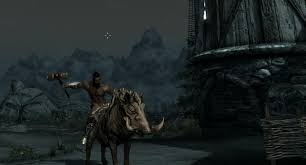 clash of clans hog rider misc made a hog rider in skyrim clashofclans