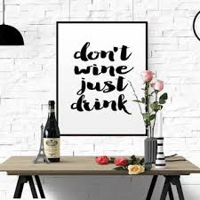 best wine wall quotes products on wanelo