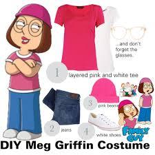 Family Guy Halloween Costume Diy Meg Griffin Costume Polyvore