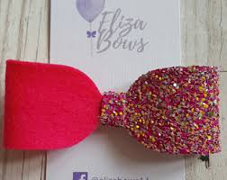 hair bows for pink hair bow etsy