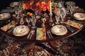 thanksgiving set a thanksgiving table set by stacey bewkes and alex papachristidis