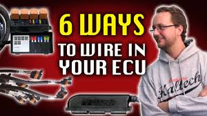 6 ways to wire in your ecu haltech technically speaking youtube