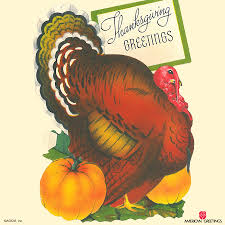 vintage thanksgiving cards american greetings