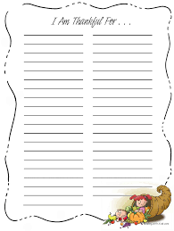 printable thankful for list thanksgiving thankful