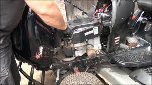 how to test a riding lawnmower fuel pump the easy way youtube