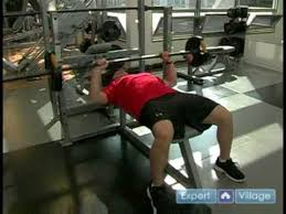 How To Bench Press Alone - fitness training for beginners how to do a bench press youtube