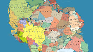 Where Is Morocco On A World Map by Here U0027s What Pangea Looks Like Mapped With Modern Political Borders