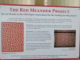 red meander project and old depot association artspace charter