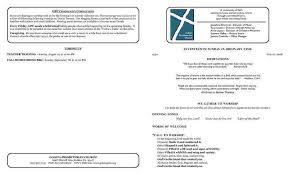 church bulletin template efficiencyexperts us
