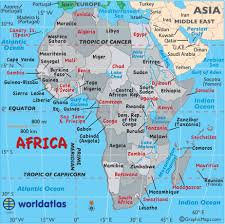 africa map landforms africa facts capital cities currency flag language landforms
