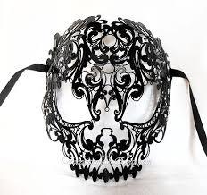 black venetian mask venice mask venetian mask white authentic swarovski skull mask