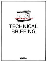 viking sewing machine service and parts manuals