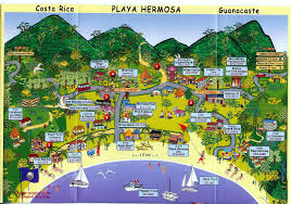 San Jose Map by Costa Rica Map San Jose Maps Of Manuel Antonio Arenal