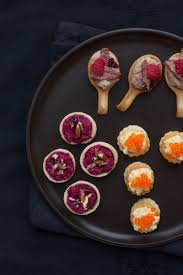berry canapes cook trish deseine s easy canapés savoury recipe
