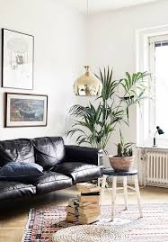 Gold Leather Sofa Best 25 Black Leather Couches Ideas On Pinterest Black Leather