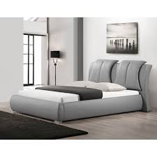 Pltform Bed by Upholstered Platform Bed No Headboard Headboards Decoration