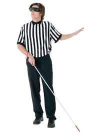 blind blind referee costume