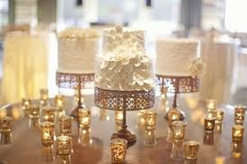 gold wedding cake stand vintage elegance white cakes on gold cake stands a wedding cake