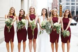bridesmaid dress colors bow awards the best bridesmaid dress looks of 2014 wedding