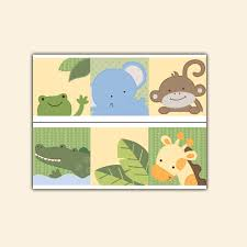 jungle animal wallpaper border wall decal nursery safari sticker