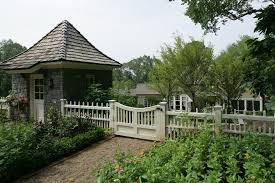 remarkable white picket fence decorating ideas for landscape