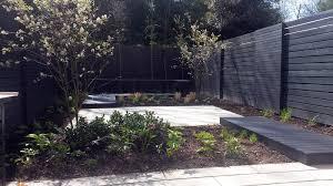 black and grey modern garden design dulwich balham clapham