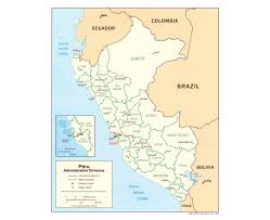 Map Of Bolivia South America by Maps Of Peru Detailed Map Of Peru In English Tourist Map