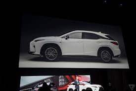 lexus suv new body style let u0027s talk about this insane design element on the new lexus rx