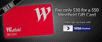 westfield gift card deals unbeatable daily deals on cudo