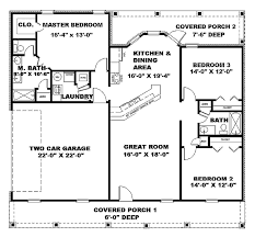 home design for 1500 sq ft neoteric design 1500 square foot house plans with garage 13 eplans