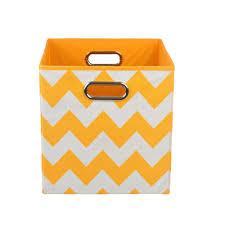Canvas Storage Bins Orange Fabric Bins U0026 Baskets Cube Storage U0026 Accessories